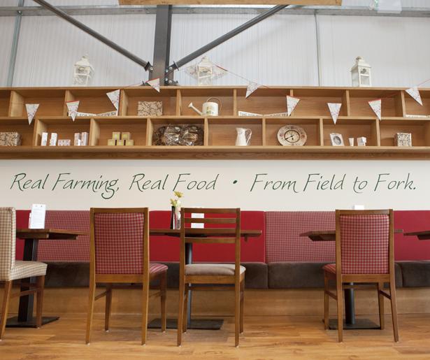 Arrow Farm Shop - Fixed Seating
