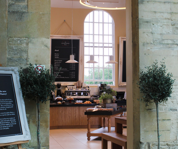 The Oxfordshire Pantry - Entrance View