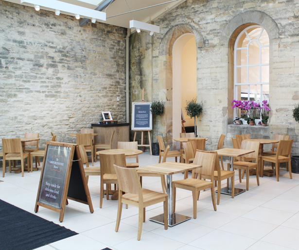The Oxfordshire Pantry - Seating Area