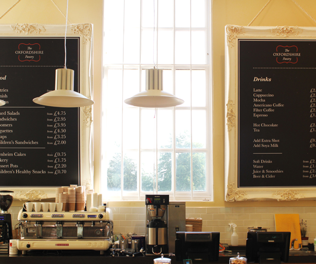 The Oxfordshire Pantry - Menu Boards