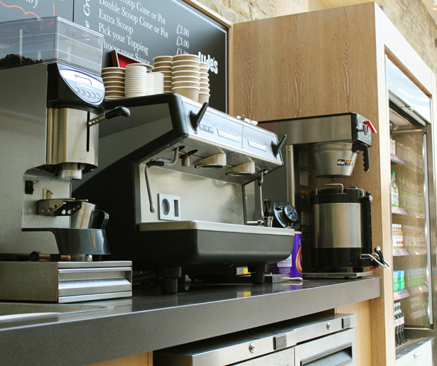 The Oxfordshire Pantry - Coffee Machine