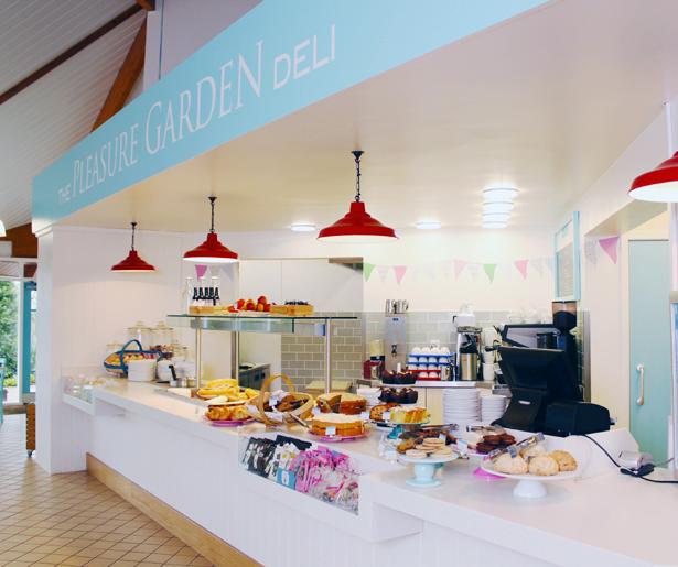 The Pleasure Garden Deli - Counter