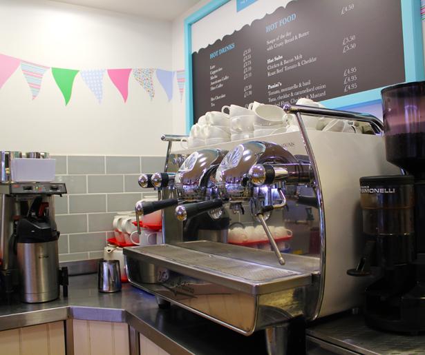 The Pleasure Garden Deli - Coffee Machine