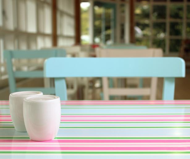 The Pleasure Garden Deli - Feature Table Tops