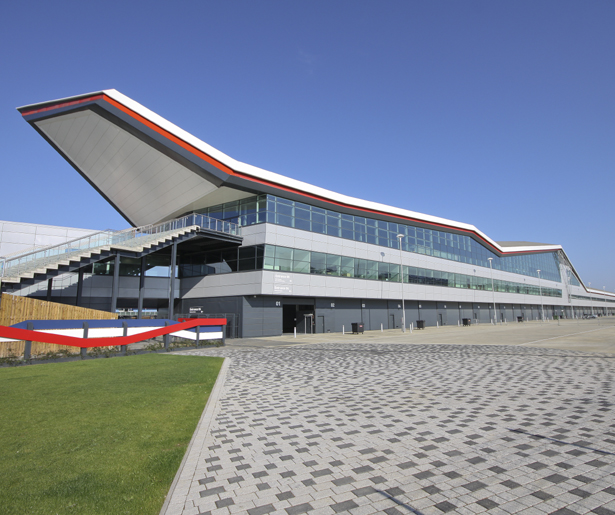 The Silverstone Wing - Exterior