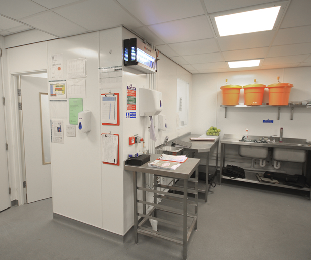 09. Royal College of General Practitioners Basement Kitchen Chef's Office
