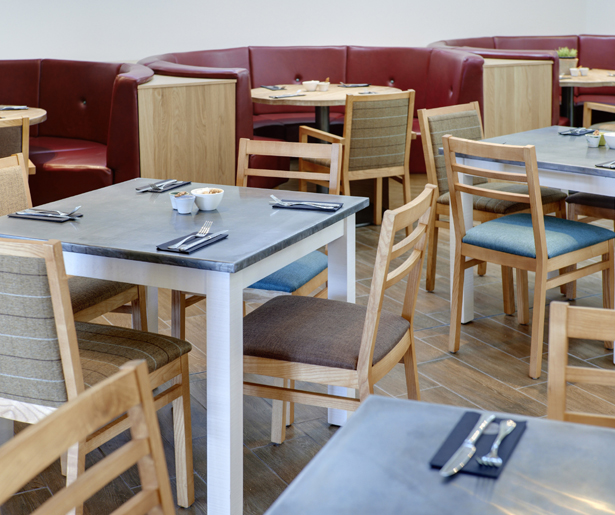 12. Ludlow Food Centre Furniture