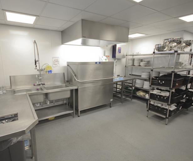 13. Royal College of General Practitioners Basement Kitchen Dishwash Area