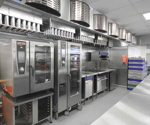 17. Royal College of General Practitioners Level 5 Finishing Kitchen