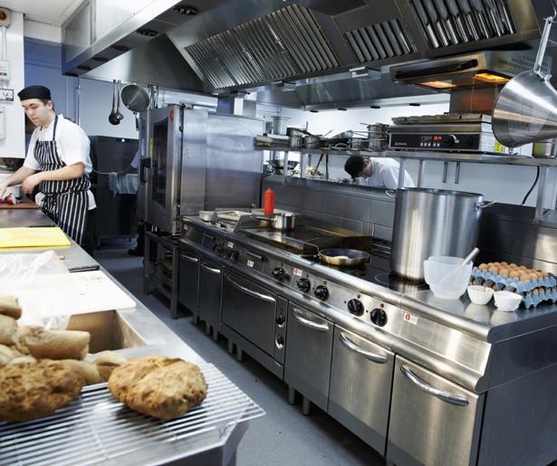18. Ludlow Food Centre Kitchen