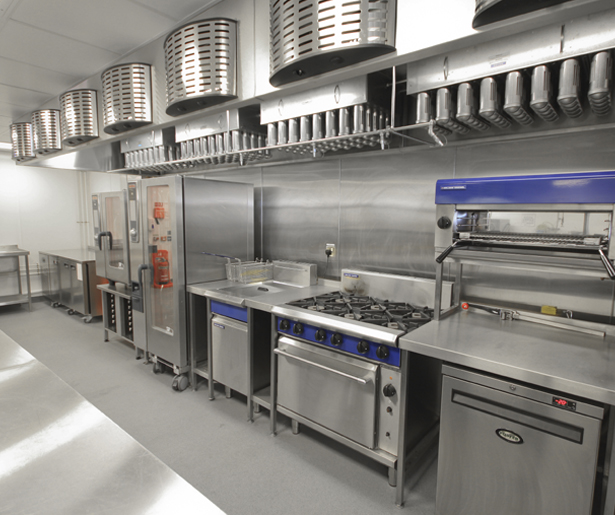 19. Royal College of General Practitioners Level 5 Finishing Kitchen