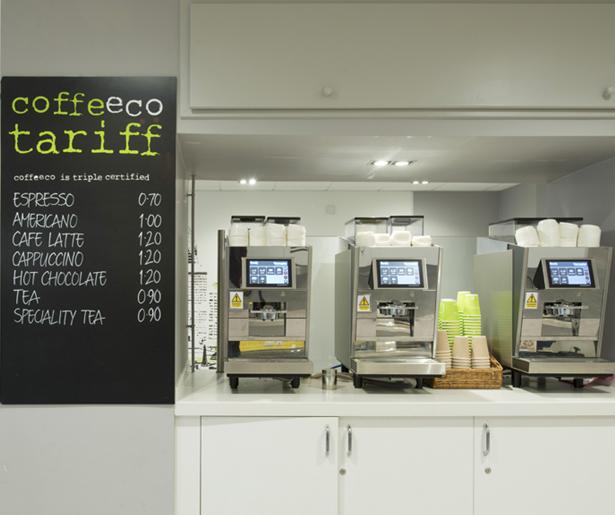London South Bank University Coffee Station