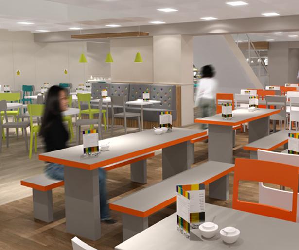 London South Bank University Seating Visual