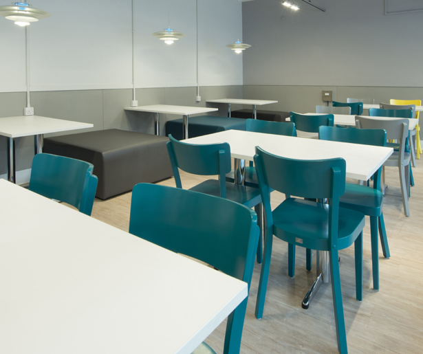 London South Bank University Seating and Lighting