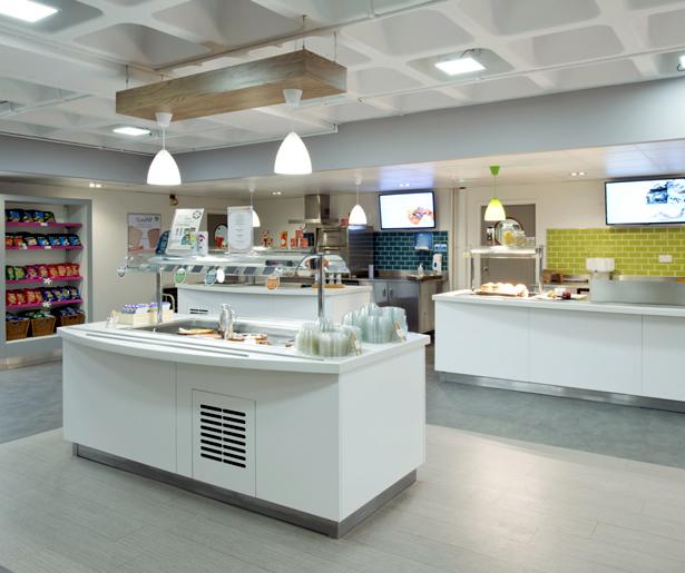 London South Bank University Servery 02