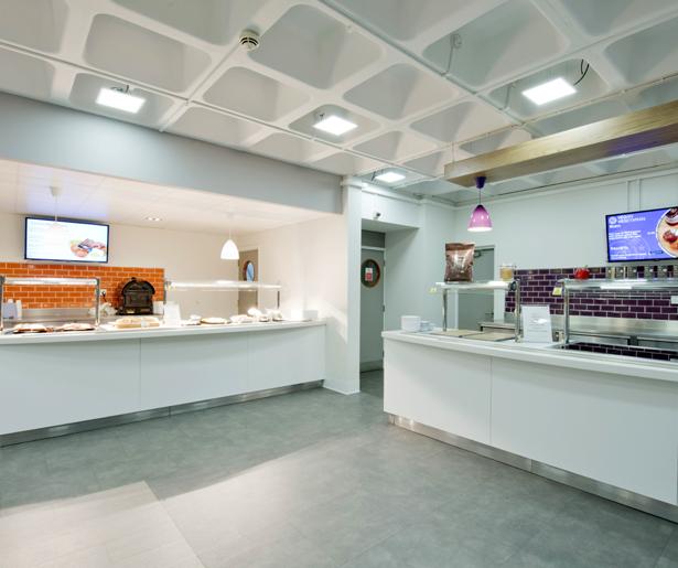 London South Bank University Servery 03