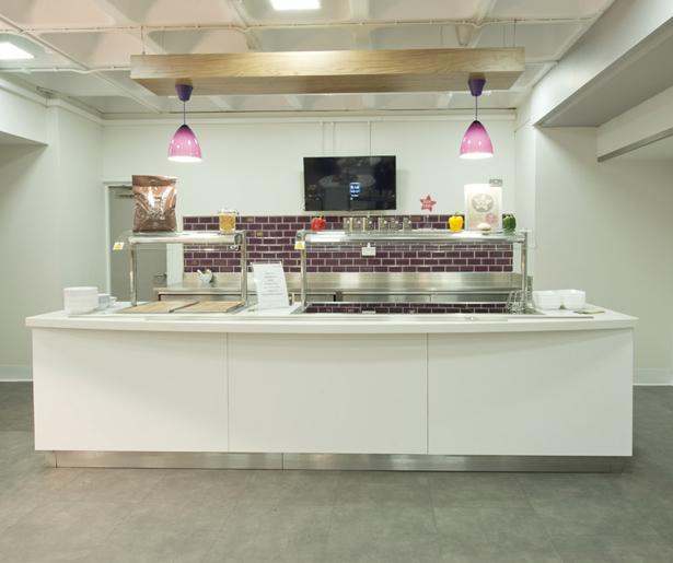 London South Bank University Servery Counter 01