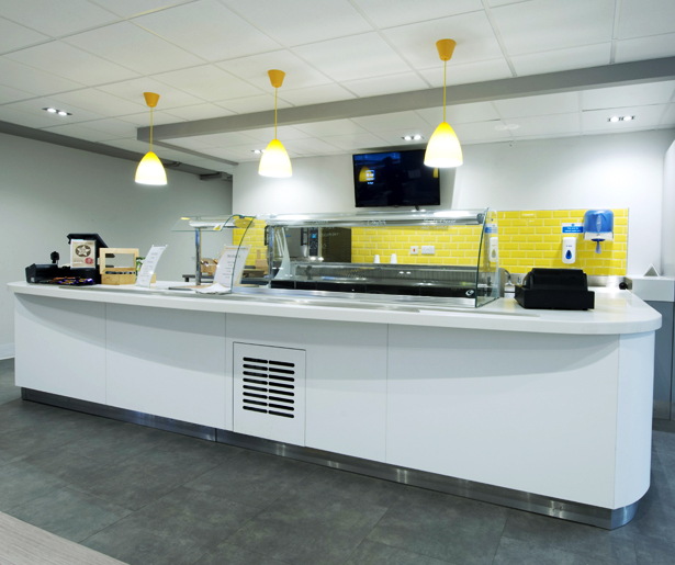 London South Bank University Servery Counter 02