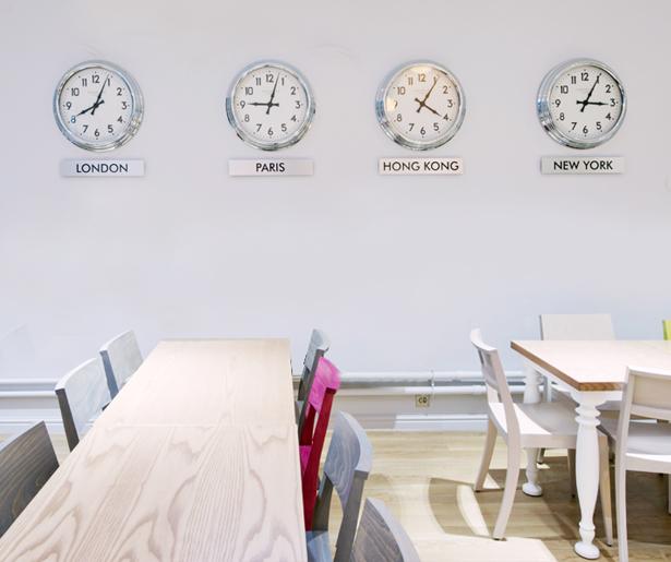 University of Chichester, Bognor Regis - Feature Clocks