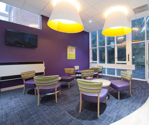 University of Chichester, Bognor Regis - Soft Seating Area