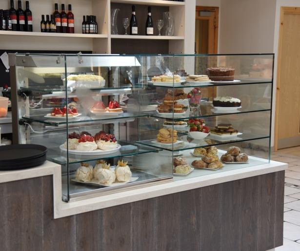 CDG Raemoir Garden Centre Cake Display